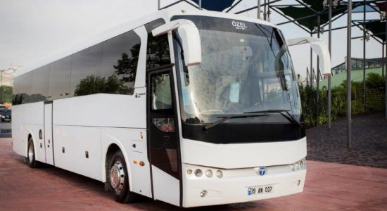 Chauffeured bus hire Istanbul groups corporates