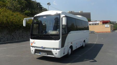 Chauffeured mini bus hire Istanbul