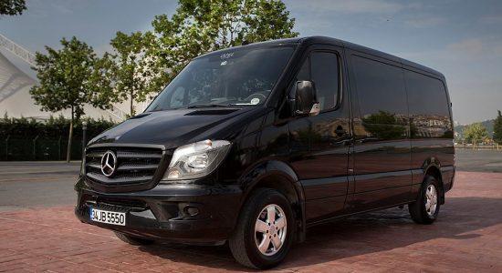 Chauffured minivan hire Istabul Mercedes