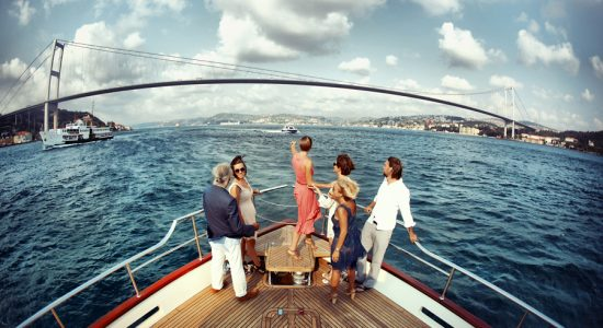Private Bosphorus cruise Istanbul boat hire
